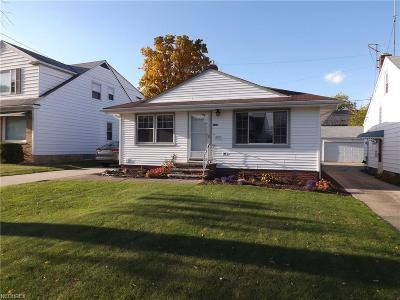Garfield Heights Single Family Home For Sale: 11505 Hempstead Rd