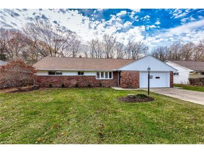 Richmond Heights Single Family Home For Sale: 4528 Catlin Dr
