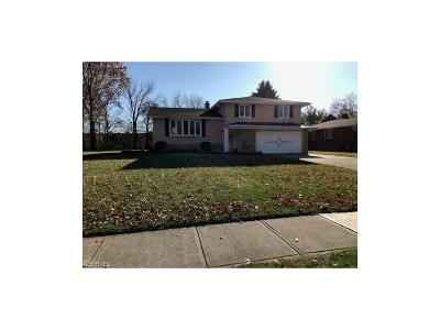 Cuyahoga County Single Family Home For Sale: 4194 Dorset Dr