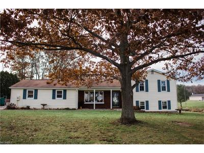 Chardon Single Family Home For Sale: 12370 Old State Rd
