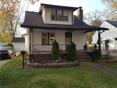 Cleveland Single Family Home For Sale: 4346 West 143rd St