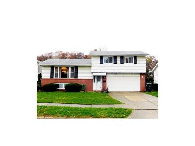 Garfield Heights Single Family Home For Sale: 13801 Grove Dr
