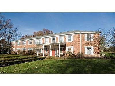 Shaker Heights Condo/Townhouse For Sale: 20301 Shelburne Rd #2A