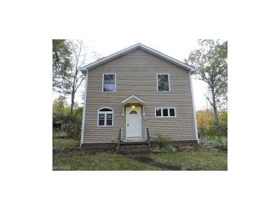 Warren OH Single Family Home For Sale: $44,900