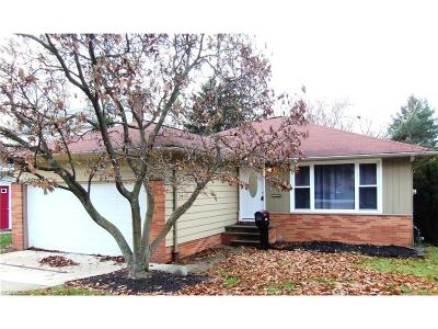 Garfield Heights Single Family Home For Sale: 5150 East 128th St