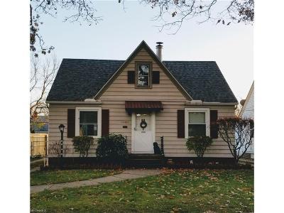 Cleveland Single Family Home For Sale: 12405 Kensington Ave