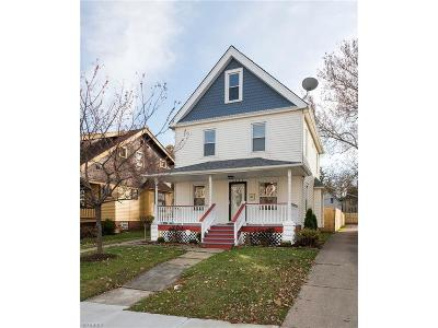 Cuyahoga County Single Family Home For Sale: 7427 Goodwalt Ave