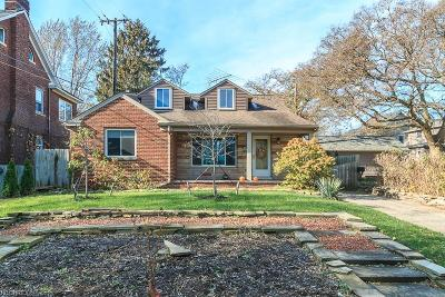 Cuyahoga County Single Family Home For Sale: 410 Bratenahl Rd
