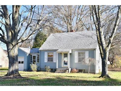 Canfield Single Family Home For Sale: 339 South Broad St