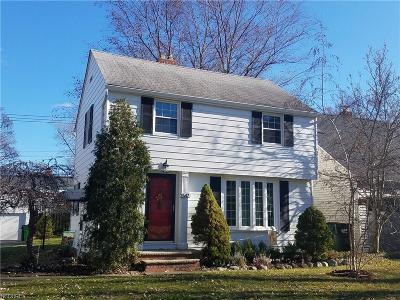 South Euclid Single Family Home For Sale: 1547 Maywood Rd