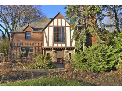 Cleveland Heights Single Family Home For Sale: 17461 Shelburne Rd
