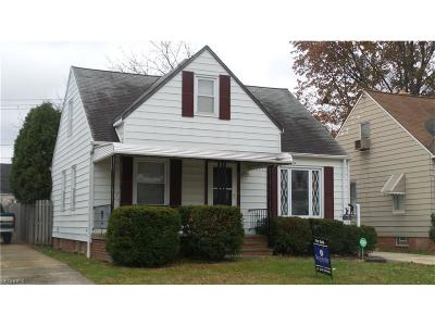 Maple Heights Single Family Home For Sale: 15000 Tabor Ave