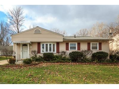 Painesville Single Family Home For Sale: 446 Hawkins Dr
