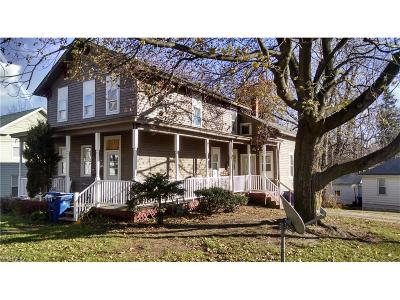 Painesville OH Multi Family Home For Sale: $125,000