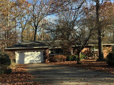 Girard Single Family Home For Sale: 1616 Squaw Creek