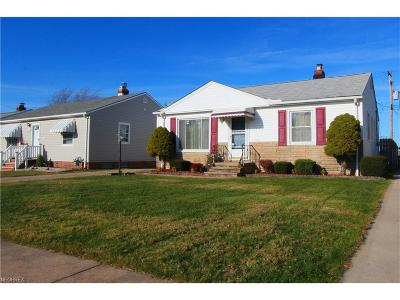 Parma Single Family Home For Sale: 3222 Standish Ave