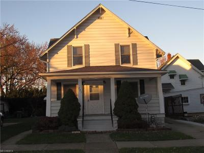 Fairport Harbor Single Family Home For Sale: 223 7th St
