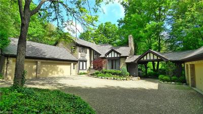 Gates Mills Single Family Home For Sale: 7091 Old Mill Rd