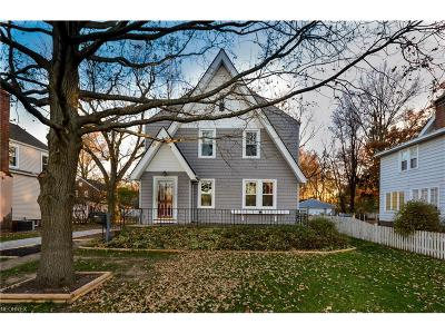 Single Family Home For Sale: 26175 Bagley Rd