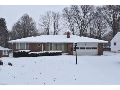 Boardman Single Family Home For Sale: 816 Ewing Rd