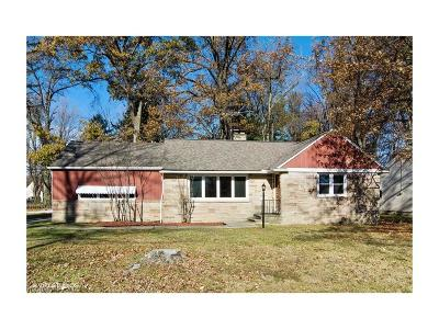 Mentor Single Family Home For Sale: 8121 Brentwood Rd