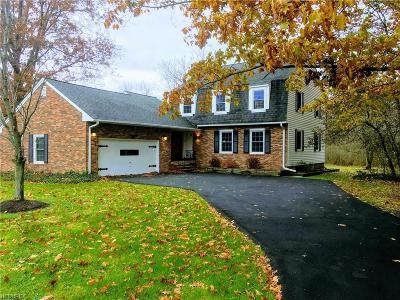 Geauga County Single Family Home For Sale: 15443 Dale Rd