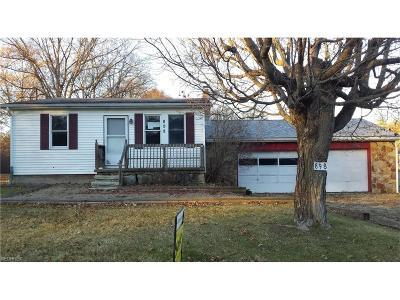 Warren Single Family Home For Sale: 898 Prentice Rd Northwest