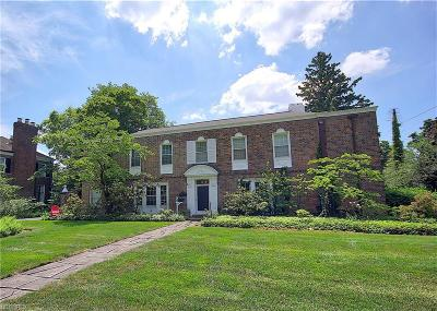 Shaker Heights Single Family Home For Sale: 20726 Brantley Rd