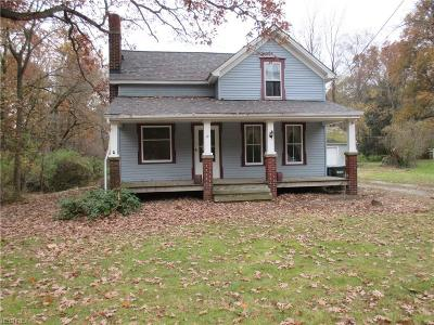 Single Family Home For Sale: 26287 Cook Rd