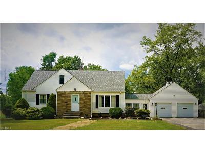 North Royalton Single Family Home For Sale: 8176 York Rd