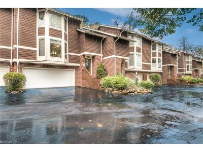 Brecksville, Broadview Heights Condo/Townhouse For Sale: 6721 Old Royalton Rd #6721