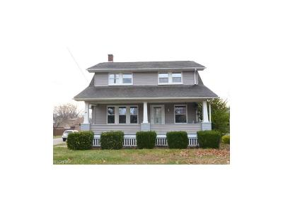 Struthers Single Family Home For Sale: 58 Wilson St