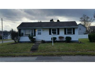 Struthers Single Family Home For Sale: 51 Katherine