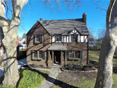 Shaker Heights OH Single Family Home For Sale: $254,900