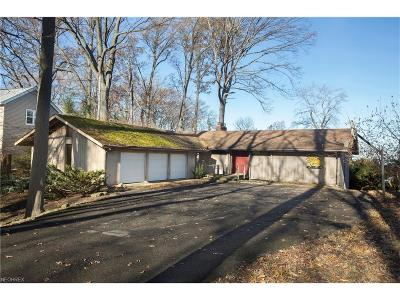 Rocky River Single Family Home For Sale: 22822 Lake Rd