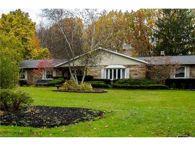 Mentor Single Family Home For Sale: 9120 Ambleside Dr