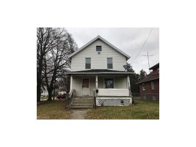 Warren Single Family Home For Sale: 354 Hall St Northwest