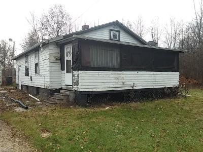 Warren Single Family Home For Sale: 1815 Baker Ave Southwest