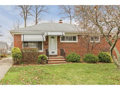 Wickliffe Single Family Home For Sale: 1731 Empire Rd
