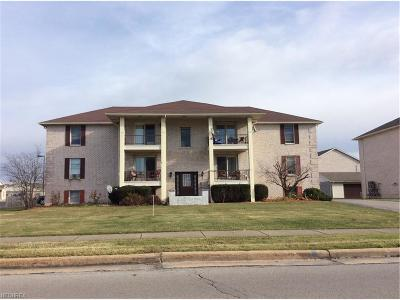 Youngstown Condo/Townhouse For Sale: 7349 Eisenhower Dr #2