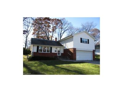 Youngstown Single Family Home For Sale: 1149 Sharlene Dr