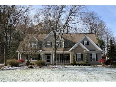 Chagrin Falls Single Family Home For Sale: 18280 Bent Tree Ln