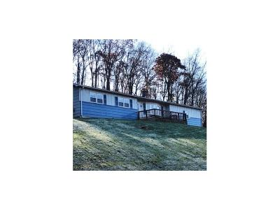Guernsey County Single Family Home For Sale: 7202 Claysville Rd