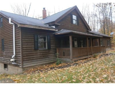 Geauga County Single Family Home For Sale: 9612 Madison Rd