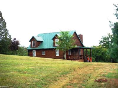 Guernsey County Single Family Home For Sale: 13990 Pebble Rd