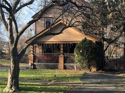 Youngstown Single Family Home For Sale: 3448 Belden Ave