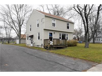 Elyria Single Family Home For Sale: 627 Furnace St