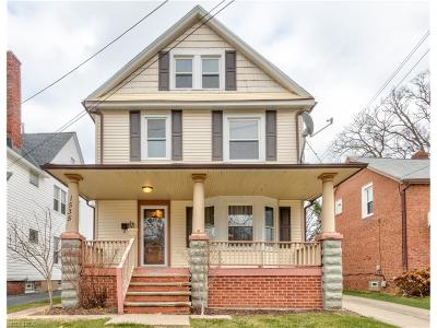 Lakewood Single Family Home For Sale: 1535 Spring Garden Ave