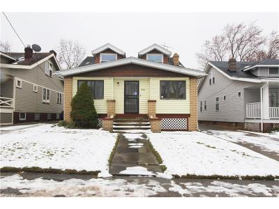 Cuyahoga County Single Family Home For Sale: 3746 West 128th St