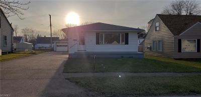 Ashtabula Single Family Home For Sale: 3047 Latimer Ave